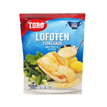 Toro Lofoten Fiskesaus 34g/ Salsa para Pescado