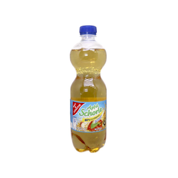 Gut&Günstig Apfelschorle / Refresco de Manzana 0,5L