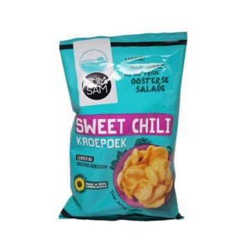 Sum&Sam Sweet Chili Kroepkoek / Sweet Chili Prawn Crackers 60g