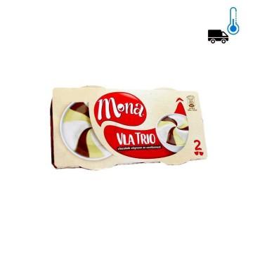 Mona Vla Trio / Chocolate, Vanilla and Cream Pudding x2