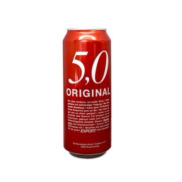 5,0 Original Export 50cl/ Cerveza Export