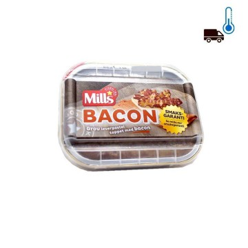 Mills Bacon Leverpostei / Patè with Bacon 185g