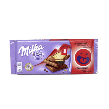 Milka LU 87g/ Biscuit Chocolate
