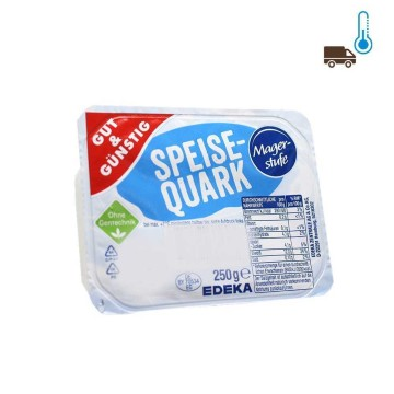 Gut&Günstig Speisequark Magerstufe / Low Fat Quark Cheese 250g