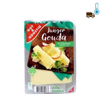 Gut&Günstig Junger Gouda in Scheiben / Young Gouda in Slices 400g