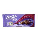 Milka Zartherb / Barra de Chocolate Negro 100g