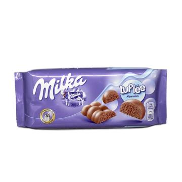 Milka Luflée / Barra de Chocolate con Burbujas 100g