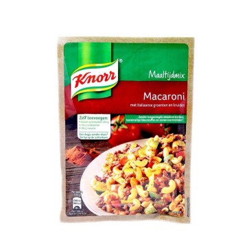 Knorr Maaltijdmix Macaroni / Mix for Italian Macaroni 61g