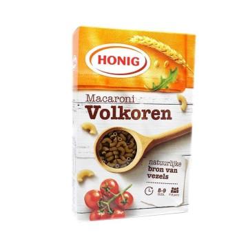 Honig Macaroni Volkoren / Wholemeal Macaroni 500g