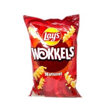 Lay's Wokkels Naturel / Potato Snacks 100g