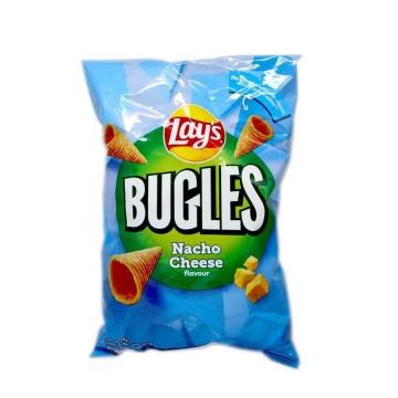 Lay's Bugles Nacho Cheese Flavour / Conos de Maíz sabor Queso 125g