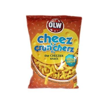 Olw Cheez Cruncherz Extra Crispy 225g/ Cheese Snacks