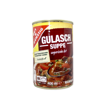 Gut&Günstig Gulasch Suppe 400ml/ Gulash Soup