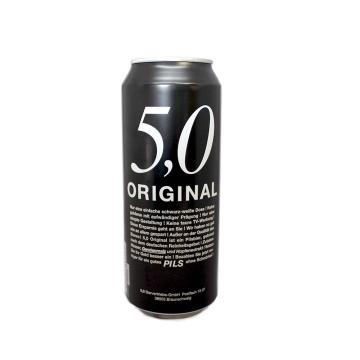 5,0 Original Pils 500ml/ Pils Beer