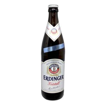 Erdinger Kristall 0,5L/ Cerveza Clara