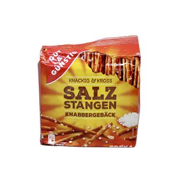 Gut&Günstig Salzstangen Knabbergebäck 250g/ Palitos Salados