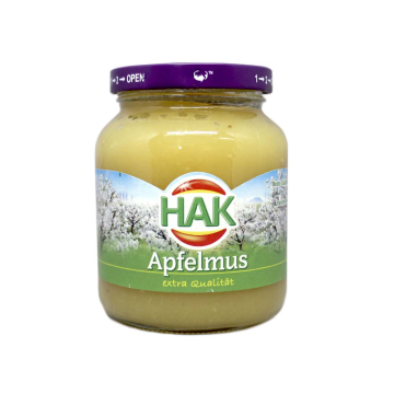 Hak Apfelmus 360g/ Compota de Manzana