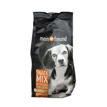 Mein Freund Snack Mix mit Geflügel&Lachs / Comida para Perros con Pollo y Salmón 400g