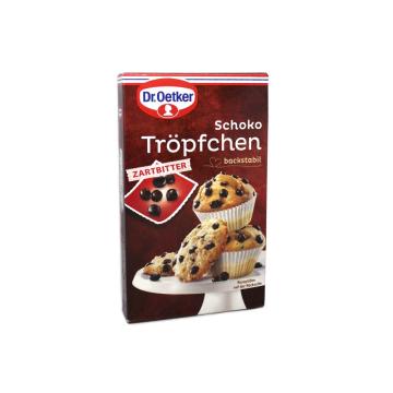 Dr.Oetker Schokotröpfchen Zartbitter / Pepitas de Chocolate Negro 75g