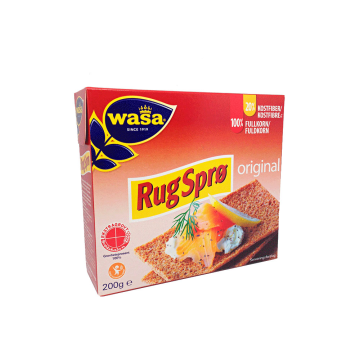 Wasa Rugsprø Original 200g/ Crunchy Rye Bread