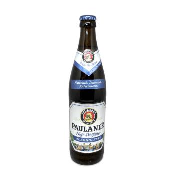 Paulaner Hefe-Weißbier Alkoholfrei / Cerveza de Trigo sin Alcohol 0,5L
