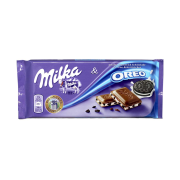 Milka Oreo 100g/ Chocolate con Galleta Oreo