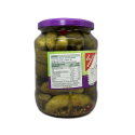 Gut&Günstig Feine Cornichons 670ml/ Spicy Pickles