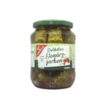 Gut&Günstig Delikatess Gewürzgurken 720ml/ Pickles