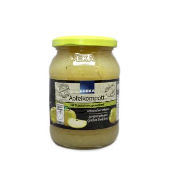 Edeka Apfelkompott 370g/ Apple Sauce