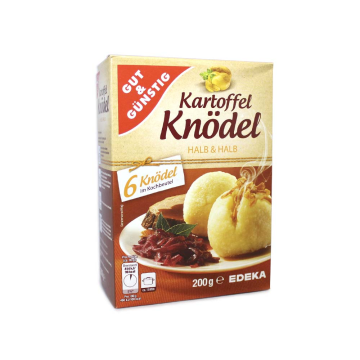 Gut&Günstig Kartoffel Knödel x6/ Mix for Potato Balls