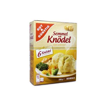 Gut&Günstig Semmel Knödel fein Gewürzt x6/ Bolas de Sémola de Trigo