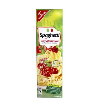 Gut&Günstig Spaghetti mit Tomatensauce / Espagueti con Salsa de Toamte 397g