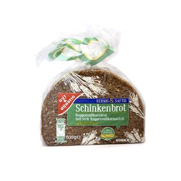 Gut&Günstig Schinkenbrot geschnitten 500g/ Rye Bread