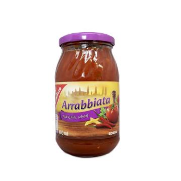 Gut&Günstig Arrabbiata mit Chili, scharf 400ml/ Arrabbiata Chili Sauce