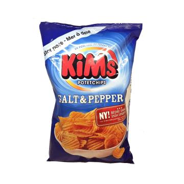Kim'S Potetchips Salt&Pepper 250g/ Potato Crisps
