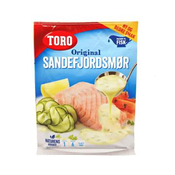 Toro Sandefjordsmør 29g/ Salsa de Mantequilla