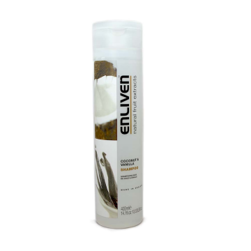 Enliven Shampoo Coconut & Vanilla 400ml