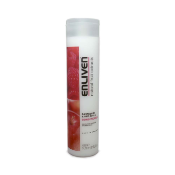 Enliven Conditioner Raspberry & Red Apple 400ml/ Acondicionador Frambuesa y Manzana