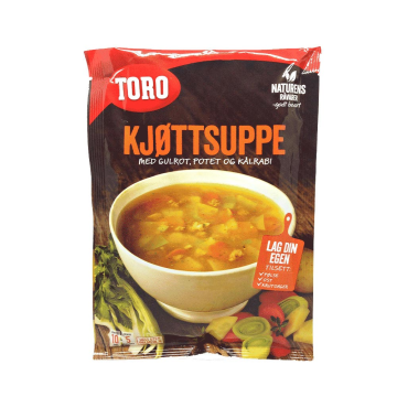 Toro Kjøttsuppe Med Grønnsaker 81g/ Meat and Vegetable Soup