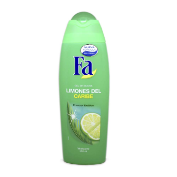 Fa Gel de Ducha Limones del Caribe 550ml