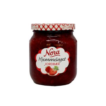 Nora Jordbærsyltetøy 400g/ Strawberry Jam