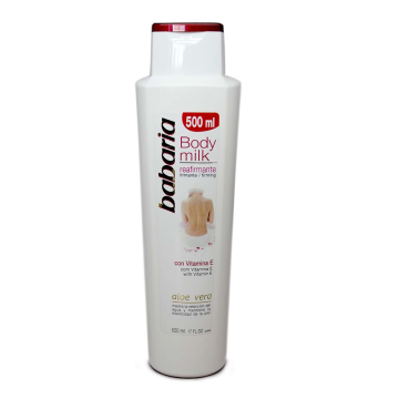 Babaria Body Milk Reafirmante Aloe Vera 500ml/ Body Firming Lotion