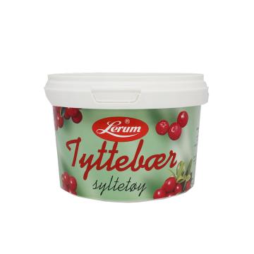 Lerum Tyttebærsyltetøy 600g/ Cranberry Jam