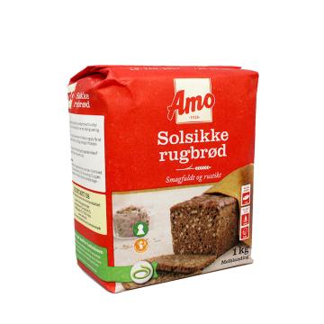 Amo Solsikke Rugbrød 1Kg/ Rye Flour with Sunflower Seeds