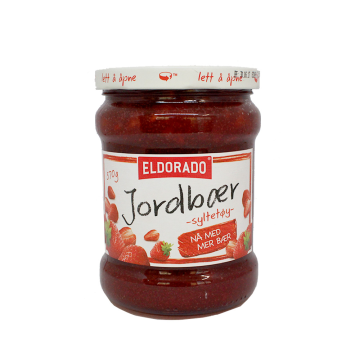 El Dorado Jordbærsyltetøy 570g/ Strawberry Jam