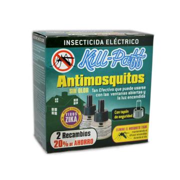 Kill-Paff Recambios de Insecticida Eléctrico/ Insecticide Refills