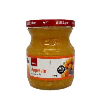 Coop Appelsin Marmelade 500g/ Mermelada Naranja