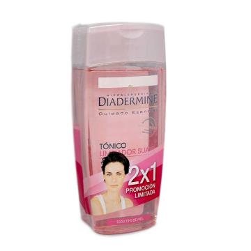 Diadermine Tónico Limpiador Suave 200ml+200 2x1/ Toner Soft