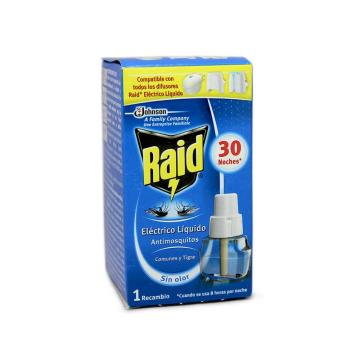 Raid Antimosquitos Eléctrico Recambio