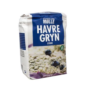 Stangeland Mølle Havregryn 750g/ Whole Grain Oats